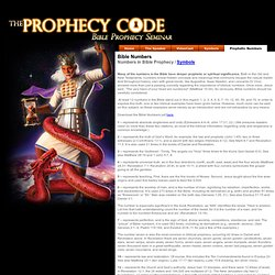 The Prophecy Code - About The Speaker