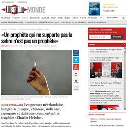 «Un prophète qui ne supporte pas la satire n'est pas un prophète»