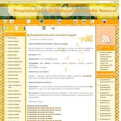 Propiedades y Beneficios del Aceite Natural