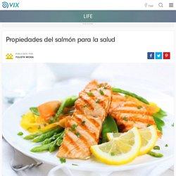 Propiedades del salmón para la salud