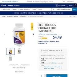 Bee Propolis Extract (100 Capsules) at the Vitamin Shoppe