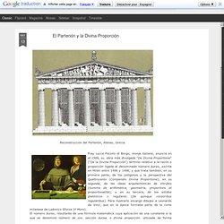 arte & arquitectura: El Partenón y la Divina Proporción