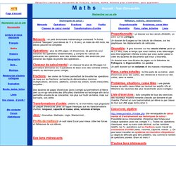 Mathématique, exercices, corrigés, problèmes, fractions, proportionnalité, géométrie, unités, transformations