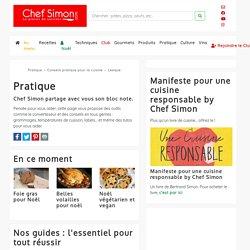 Pratique - Conseils pratiques en cuisine