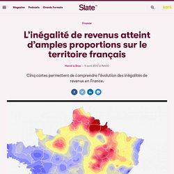 L'inégalité de revenus atteint d'amples proportions sur le territoire français