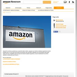 À propos de - Amazon Newsroom France