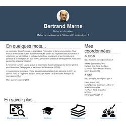 À propos de Bertrand Marne