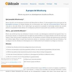 À propos de bitcoin.org