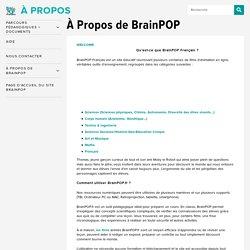 À Propos de BrainPOP