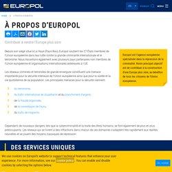 À propos d'Europol
