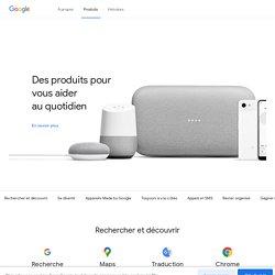 Les services de l'entreprise Google