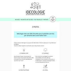 À propos - Idecologie - Idecologie