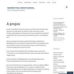 Marketing Emotionnel