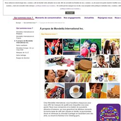 À propos de Mondelēz International Inc.