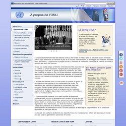 À propos de l'ONU