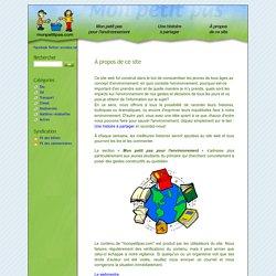 À propos de ce site - Petits pas pour l'environnement