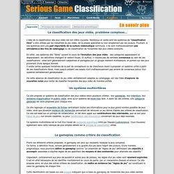 A propos de ce projet de classification du jeu vidéo