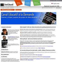 A propos du projet Canal Educatif à la Demande
