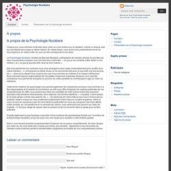 Psychologie Nucléaire
