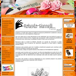 A Propos - Roberto Giannelli France