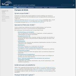 À propos de Scilab / Scilab / Accueil