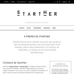 À propos – StartHer