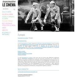 SITE lux scène nationale de Valence : Transmettre le cinéma