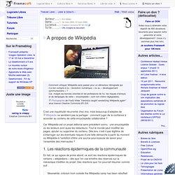 A propos de Wikipédia