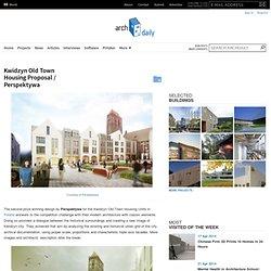 Kwidzyn Old Town Housing Proposal / Perspektywa
