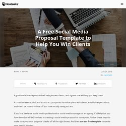 How to Write a Winning Social Media Proposal (Free Template Included)
