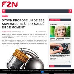 Dyson propose un de ses aspirateurs à prix cassé en ce moment