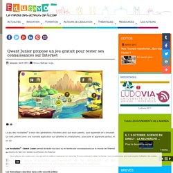 Qwant Junior propose un jeu gratuit pour tester ses connaissances sur Internet