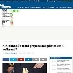 Air France, l'accord proposé aux pilotes est-il suffisant ?