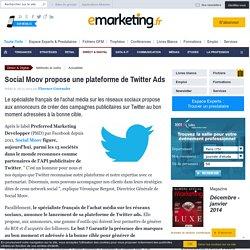 Social Moov propose une plateforme de Twitter Ads