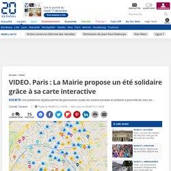 Paris : La Mairie propose un été solidaire grâce à sa carte interactive