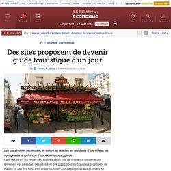 Des sites proposent de devenir guide touristique d'un jour