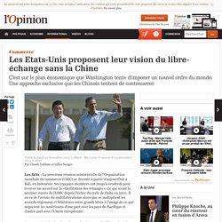Les Etats-Unis proposent leur vision du libre-échange sans la Chine
