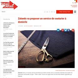 Zalando va proposer un service de couturier à domicile