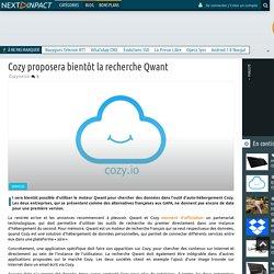 Cozy proposera bientôt la recherche Qwant