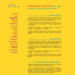 Proposition activité Droits de l'enfant