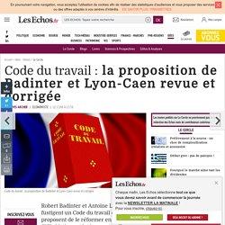 Code du travail : la proposition de Badinter et Lyon-Caen revue et corrigée, Le Cercle