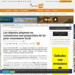 Proposition de loi pour développer la consommation locale