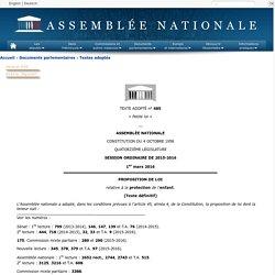 Texte adopté n°685 - Proposition de loi, adoptée, par l'Assemblée nationale, dans les conditions prévues à l'article 45, alinéa 4, de la Constitution, relative à la protection de l'enfant