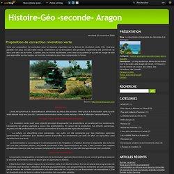 Proposition de correction révolution verte - Le blog Histoire-Géographie des Secondes 6 et 12 Aragon