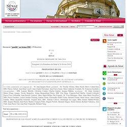 proposition de loi visant à mieux garantir le droit à la vie privée à l'heure du numérique
