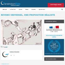 Revenu universel, Une proposition réaliste – GenerationLibre