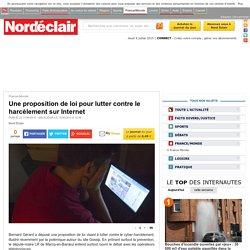 Une proposition de loi pour lutter contre le harcèlement sur Internet - France-Monde - Nord Eclair