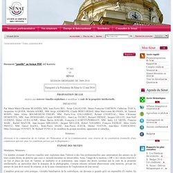 proposition de loi relative aux oeuvres visuelles orphelines et