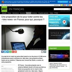 Une proposition de loi pour lutter contre les «fake news» en France, pour qui, pourquoi ?