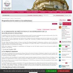 Proposition de loi relative à la maltraitance